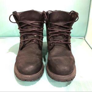 Black Timberland Boots 7M Linden Woods
